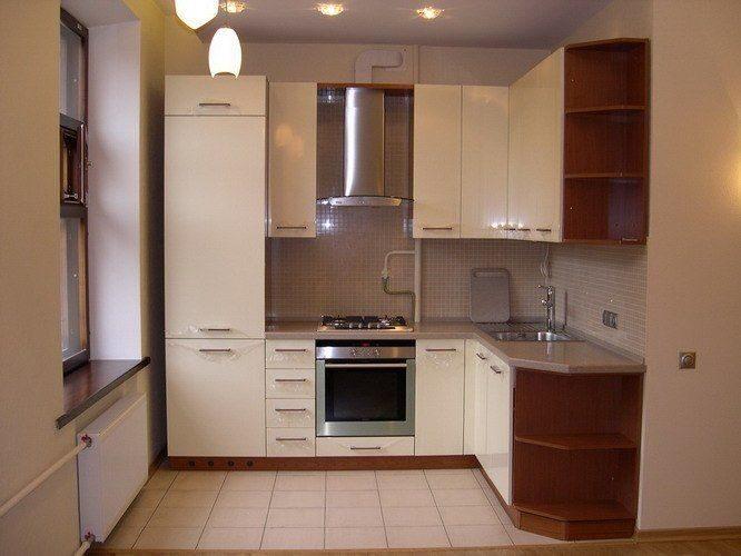 Ремонт угловой кухни дизайн